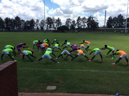 Eagles train in Pretoria camp
