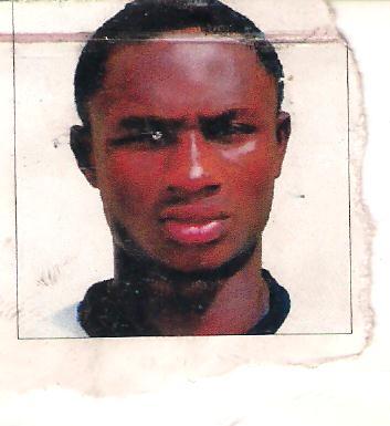 The late goal keeper of Ifako united football club 21 year old Owawu Samuel