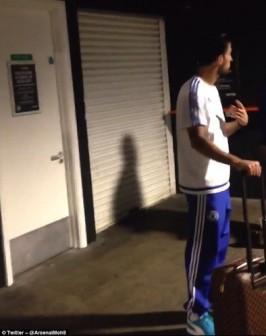 A steward called Chelsea midfielder a snake
