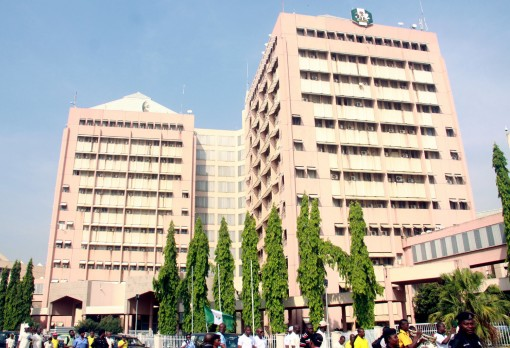 Federal Secretariat, Abuja. Photo: Femi Ipaye
