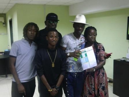 Dammy Krane registers for Access  Bank Lagos Marathon