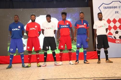 Ikorodu FC unveiled in Lagos on Thursday, 28 Jan. 2016