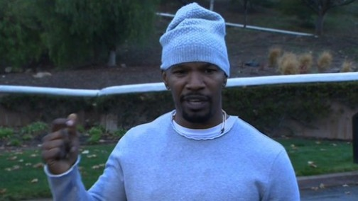 Jamie Foxx says it was not a heroic act