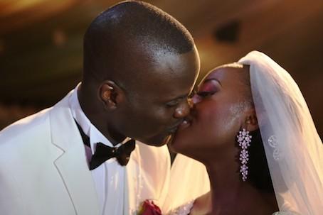 Adefemi Mohammed Onanuga and his Wife, Olubukola