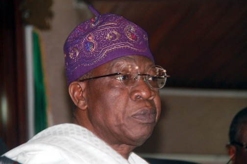 Lai Mohammed, Minister of Information and Culture Photo: Femi Ipaye/PM News