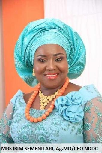 Mrs Ibim Semenitari, Acting Managing Director, NDDC