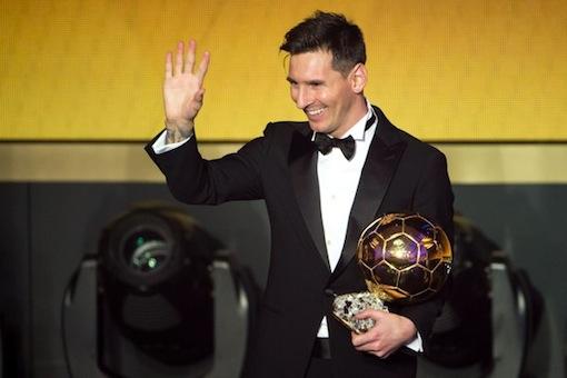 Lionel Messi wins unprecedented fifth Ballon d'Or award