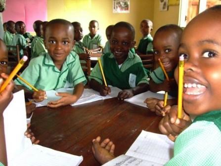 A Nigerian primary school