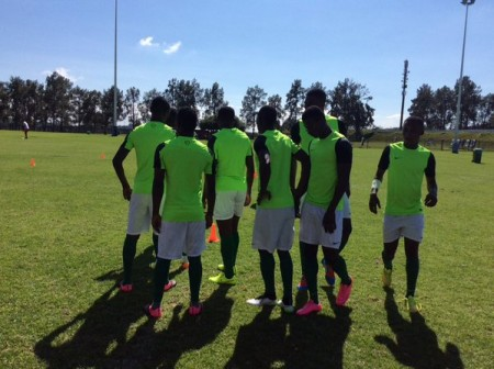 Nigeria's Home-Eagles players