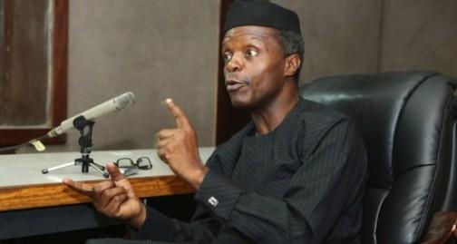 Nigeria's Vice President, Prof Yemi Osinbajo