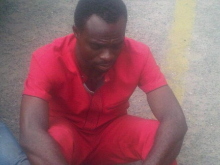 Pastor Titus Onwuchekwa paraded for buying stolen SUV
