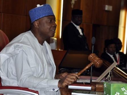 Senator Bukola Saraki, Nigeria's senate president