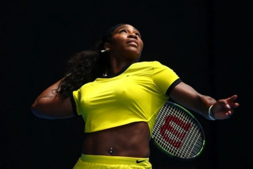 Serena Williams has been in fantastic form at the Aussie Open