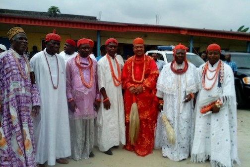 Some Delta state traditional rulers