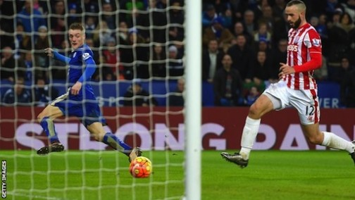 Jamie Vardy is back to scoring for Leicester