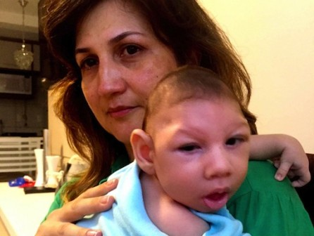 Marilla Lima had Zika virus while pregnant. Her 2 1/2-month-old son, Arthur, has microcephaly -- a birth defect characterized by a small head and severe brain damage. Photo: northcountrypublicradio.org