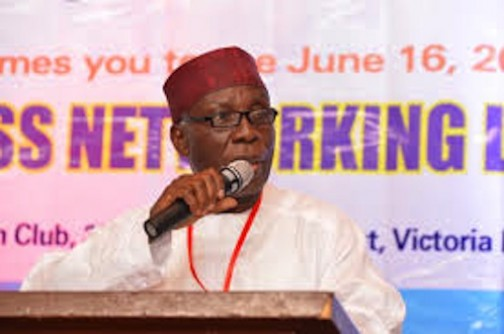Chief Audu Ogbeh, Minister of Agriculture and Rural Development