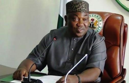 Governor Ifeanyi Ugwuanyi of Enugu State