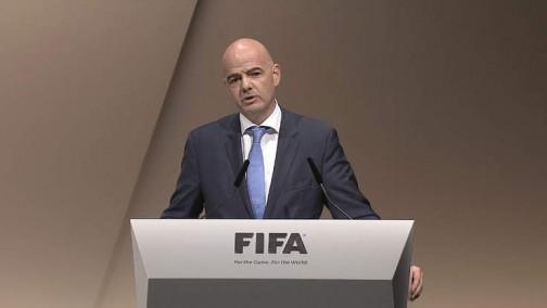 Gianni Infantino, FIFA president