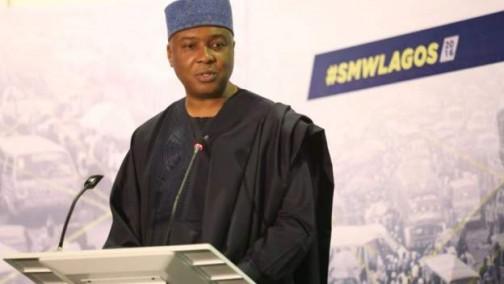 Senator Bukola Saraki, Senate President
