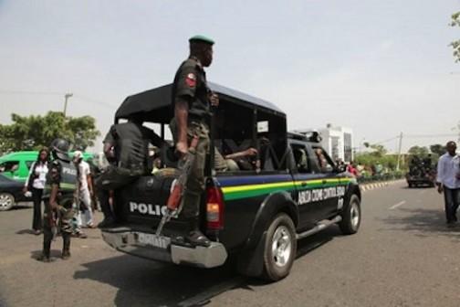 FILE PHOTO: A police patrol vehicle