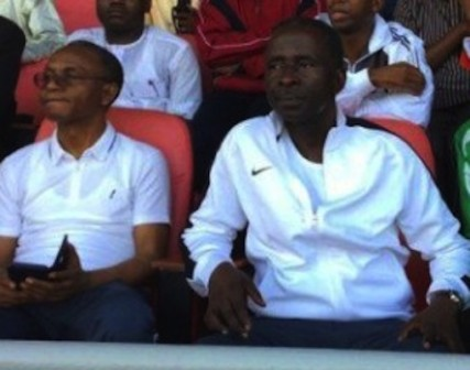 Governor Nasir El-Rufai and his deputy, Architect Barnabas Yusuf Bala (Bantex)