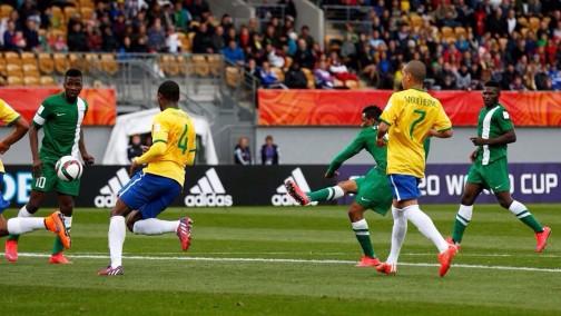 FILE PHOTO: Nigeria vs Brazil