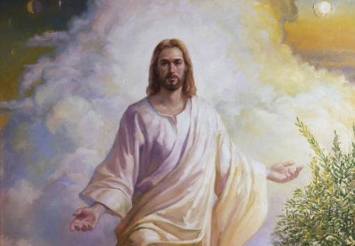 A portrait of Jesus Christ