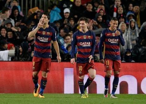Suarez, Messi and Neymar