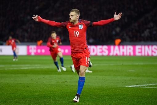 Jamie Vardy drew England level