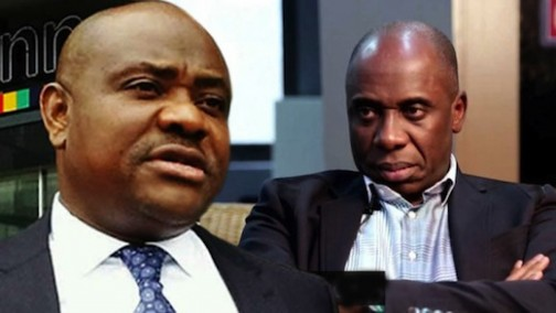 Governor Nyesom Wike and Rotimi Amaechi are leaders of PDP and APC respectively in Rivers