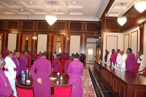 Anglican church leaders