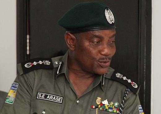 Solomon Arase, Inspector General of Police