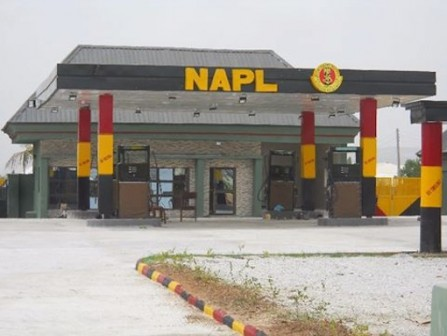 The filling station operates under Nigeria Army Property Limited (NAPL)
