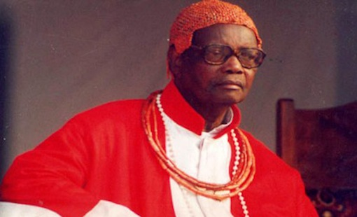 Oba Erediauwa of Benin