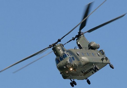 US attack helicopter