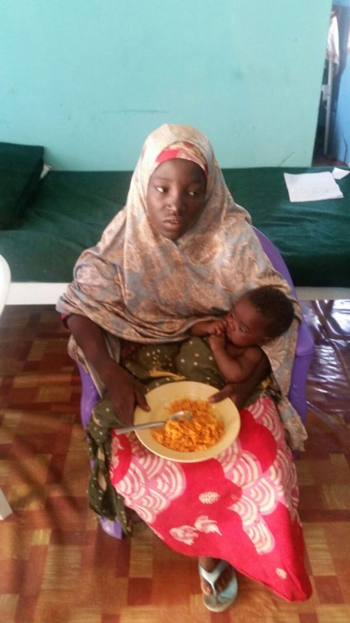 Amina Ali, one of the abducted Chibok schoolgirls rescued by the Nigerian Army