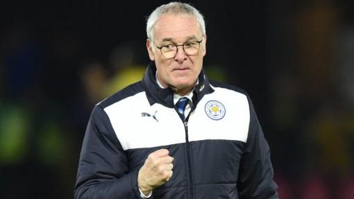 Leicester manager, Claudio Ranieri