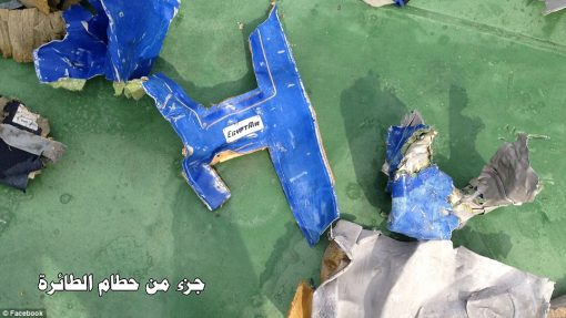 EgyptAir Wreckage 1