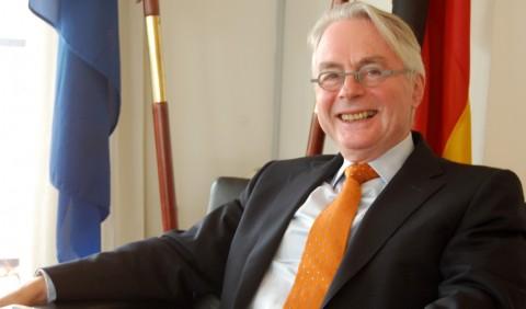 Michael Zenner, German Ambassador to Nigeria