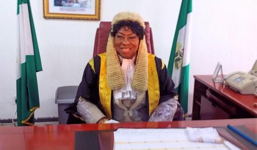 Mrs Elizabeth Ativie, first female Speaker, Edo State House of Assembly