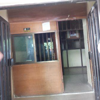 Broken Frontdoor at NFF secretariat