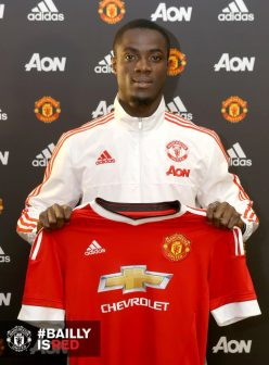Eric Bailly is Mourinho's first signing