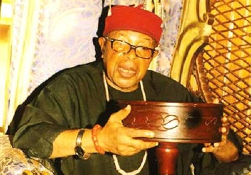 His Royal Majesty Eze Njemanze