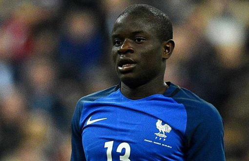 N'Golo Kante was one of the stand out players for Leicester's