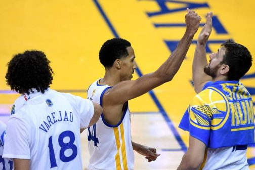 Golden State backup guard Shaun Livingston outscored MVP teammate Stephen Curry by nine points in Game 1 of the NBA Finals. PHOTO: THEARON W. HENDERSON/GETTY IMAGES