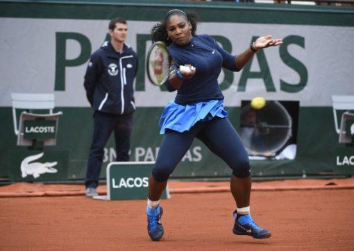 Serena Williams: dethroned in Paris