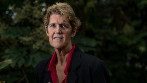 Cancer patient Sue Jensen