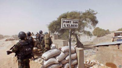 Cameroon's border post