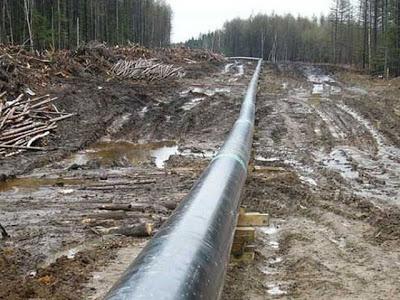 Pipeline-vandalisation